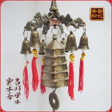 China light tower wind bell tower with six bells Meshach Wangcai angle most powerful bells