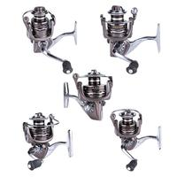 13BB Silver Casting Reels Spinning Reel Full Metal Spool 5 2 1 Gear Ratio For Carp
