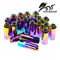 Blox Style Racing 60MM Aluminum Extended Tuner Wheel Lug Nuts For Wheels Rims M12X1.5