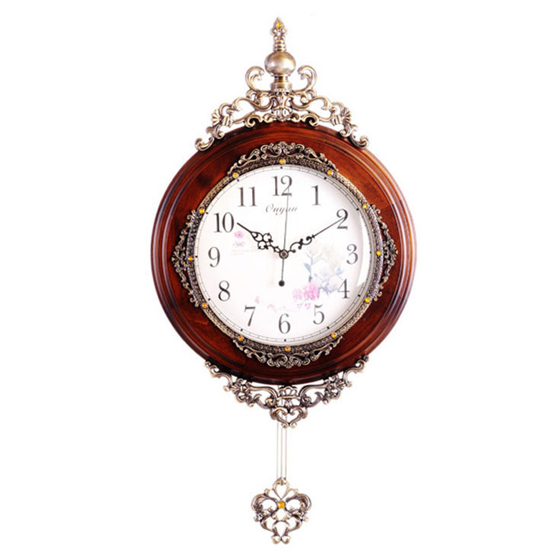 Buy European Antique Wooden Wall Clocks