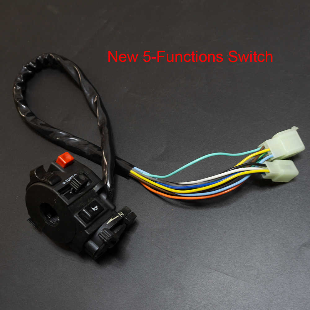full wiring harness loom ignition coil cdi for 150cc 200cc 250cc 300cc zongshen lifan atv quad [ 1000 x 1000 Pixel ]