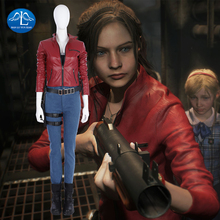 Dmc5 New Game  Cosplay Costume Women Claire for Halloween Full Set Custom Made