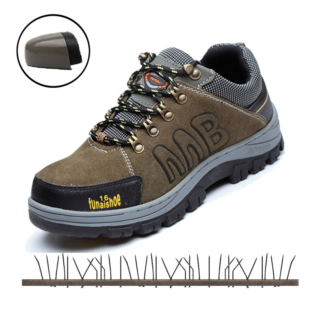 Mens Work Safety Shoes Men Outdoor Footwear Anti-slip Rubber Lightweight Casual Ankle Boots Indestructible Shoes Woman SneakersMens Work Safety Shoes Men Outdoor Footwear Anti-slip Rubber Lightweight Casual Ankle Boots Indestructible Shoes Woman Sneakers
