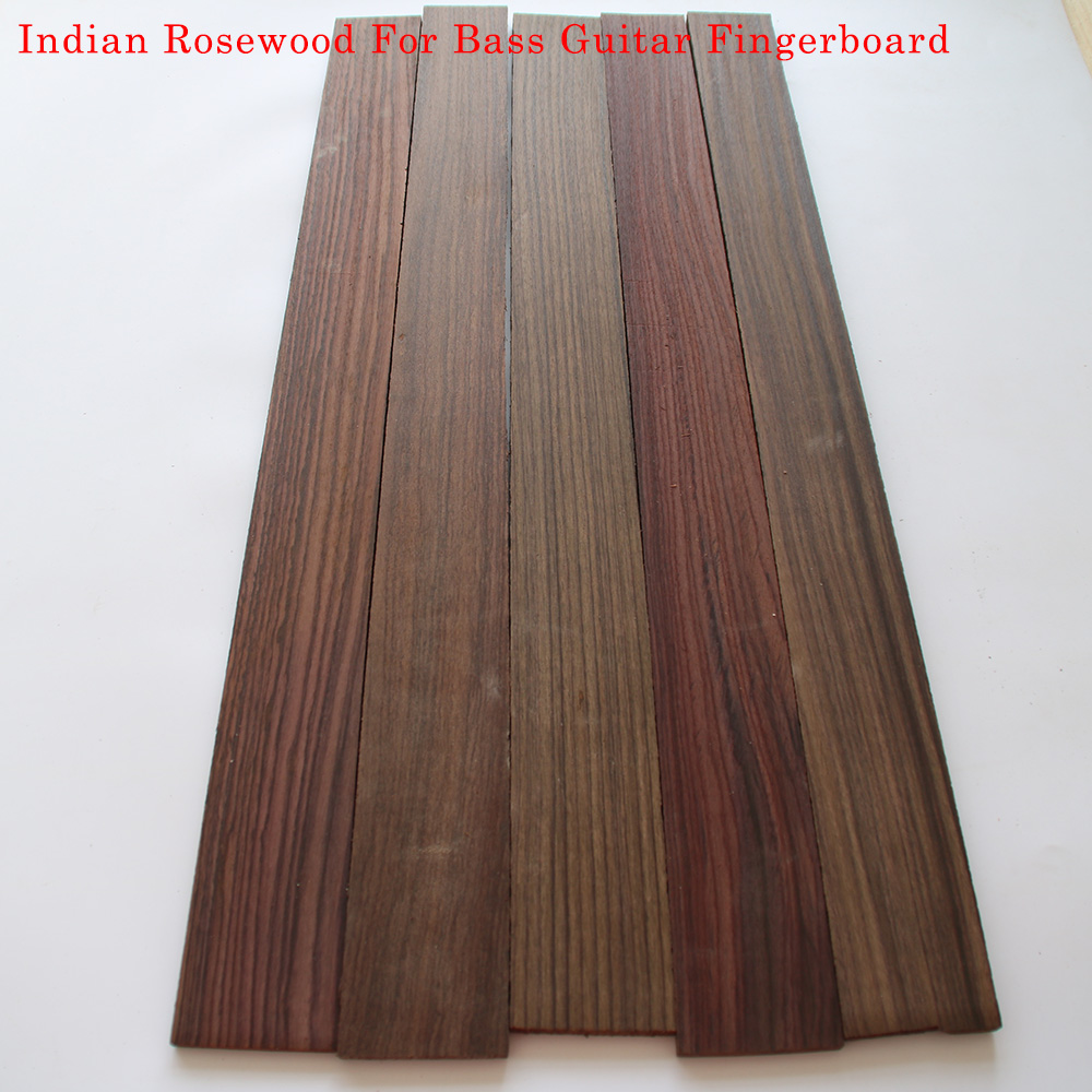 Guitar Accessories Indian Rosewood For Bass Guitar Fingerboard Guitarra Making Materials