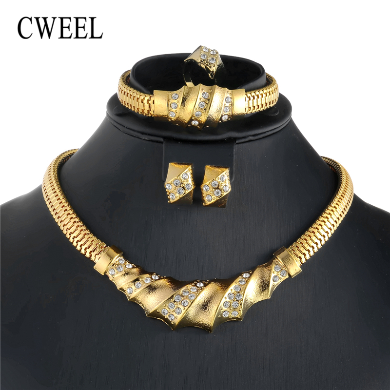 2f8fe38f4a ᗑ】 New! Perfect quality dubai gold accessories for women and get ...