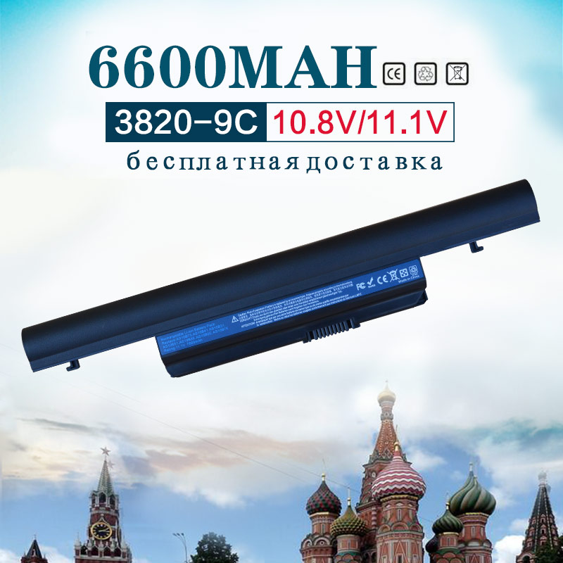 11.1V 6600mAh battery for Acer Aspire TimelineX 3820 4820 5820 3820T 4820T 5820T 5553 5553G 5625 5625G 5745 5745G 5745P led display laptop lcd screen for acer aspire 3820 3820t 3820tg timelinex series 1366x768 40 pin