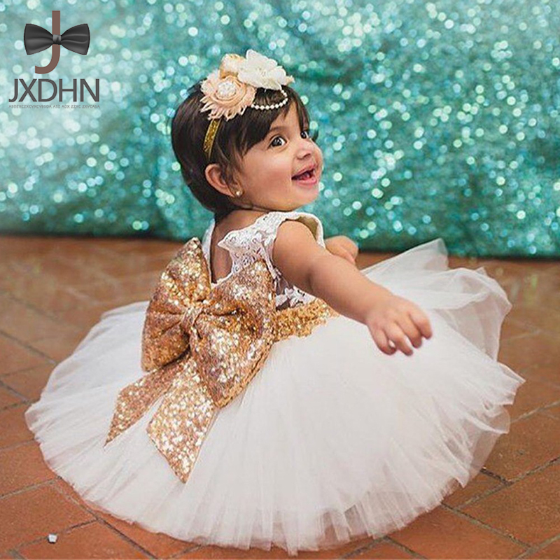 0-5T New Fashion Sequin Flower Girl Dress Party Birthday Wedding Princess Toddler Baby Girls Clothes Children Kids Girl Dresses new high quality fashion excellent girl party dress with big lace bow color purple princess dresses for wedding and birthday