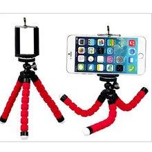 Mobile phone holder flexible octopus tripod