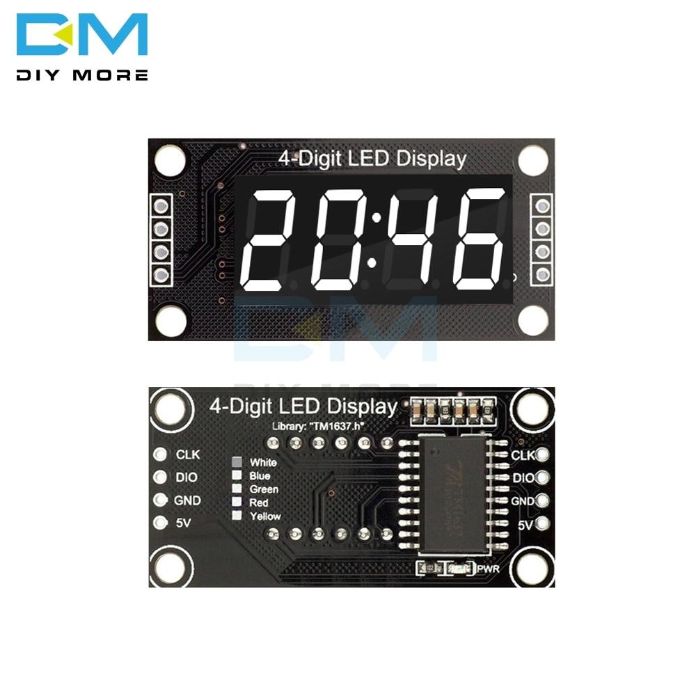 White LED 4-Digit Display Module 0.36