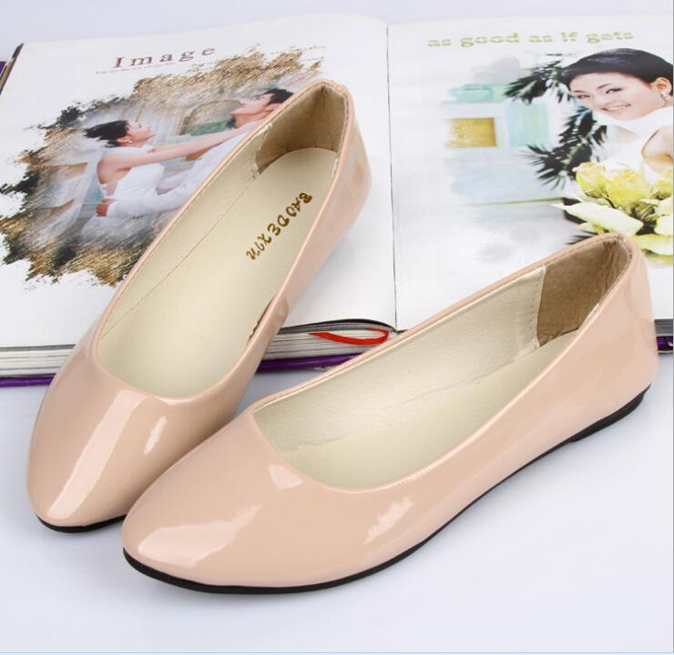 Candy Colors Women's Flats Nice New Arrival 30 Colors Shoes Girls Summer Spring Casual Sport Work Plus Size Females Shoes