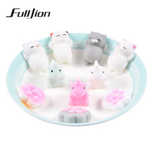 Fulljion Antistress Squishy Cat Unicorn Stress Relief Toys Entertainment Squeeze Gadgets Popular Colourful Squishe Animals Kawai