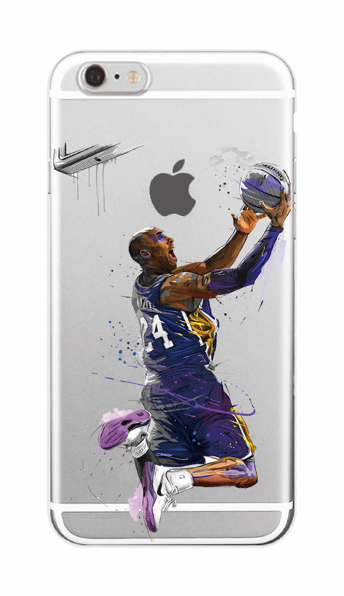 nba iphone cases nba bryant soft tpu phone for iphone 7plus 12677