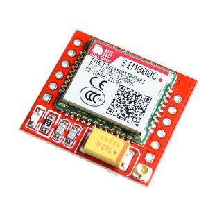 SIM800C GSM GPRS модуль 5 В/3,3 в TTL макетная плата IPEX с Bluetooth и TTS для Arduino STM32 C51