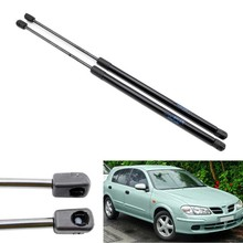 2pcs Auto Tailgate Boot Gas Struts Shock Struts Damper Lift Supports for Nissan Almera Pulsar ll N16 2000-2006  Hatchback 540 mm