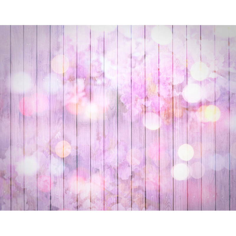 TR Purple Flowers Newborn Photographic Backgrounds Glitter Bokeh Backdrops for Kids Baby Birthday Photo Studio Props Vinyl foto new promotion newborn photographic background christmas vinyl photography backdrops 200cm 300cm photo studio props for baby l823