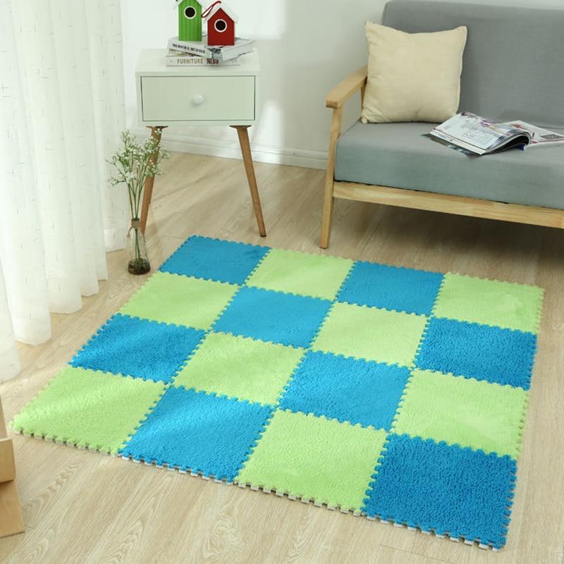 Soft EVA Foam Baby Playmat Plush Play Mat Puzzle Floor Carpet Split Joint Gym Toys For Kids Children 30CM