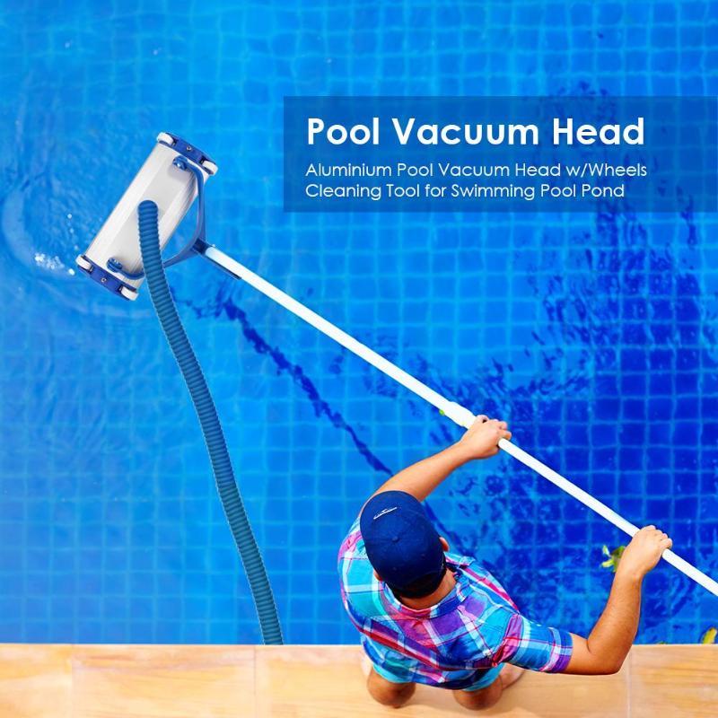 Aspirateur de piscine aspirateur tête brosse nettoyant bassin piscine sol outil de nettoyage résistance à la Corrosion résistance à l'oxydation