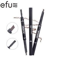 5 Colors 24 Hours Long-lasting Double-headed Eyebrow Pencil 0.3g Eyes Makeup Brand EFU #7561-7565