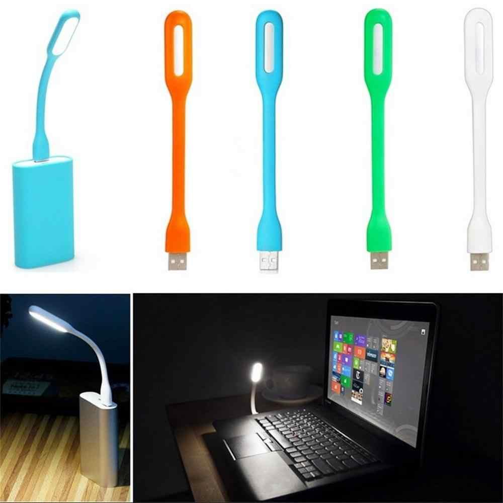 Flexible LED USB lumière ordinateur tablette ordinateur portable USB lumière LED lampe Flexible Ultra lumineux pour ordinateur portable PC batterie externe partenaire
