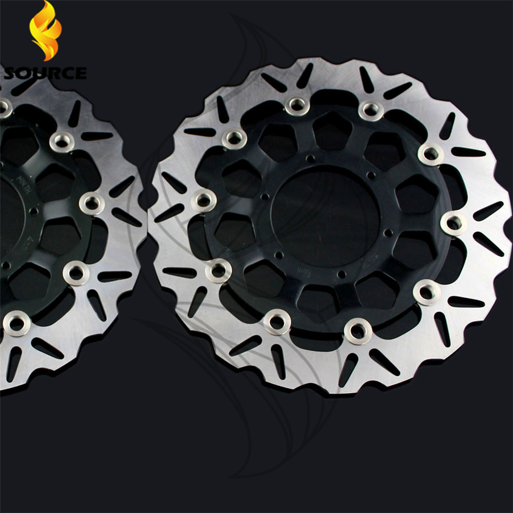 Aluminum alloy inner ring & Stainless steel outer ring Front Brake Disc Rotor motorcycle parts For Honda CBR1000RR 2004-2005