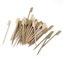 10,5 см бамбука выбирает Весло Шашлык выбирает для барбекю 40 шт