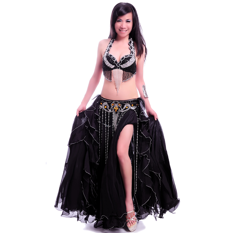 Nieuwe Big Wave Flare Expansion Full Belly dance rok Professional - Nieuwe items