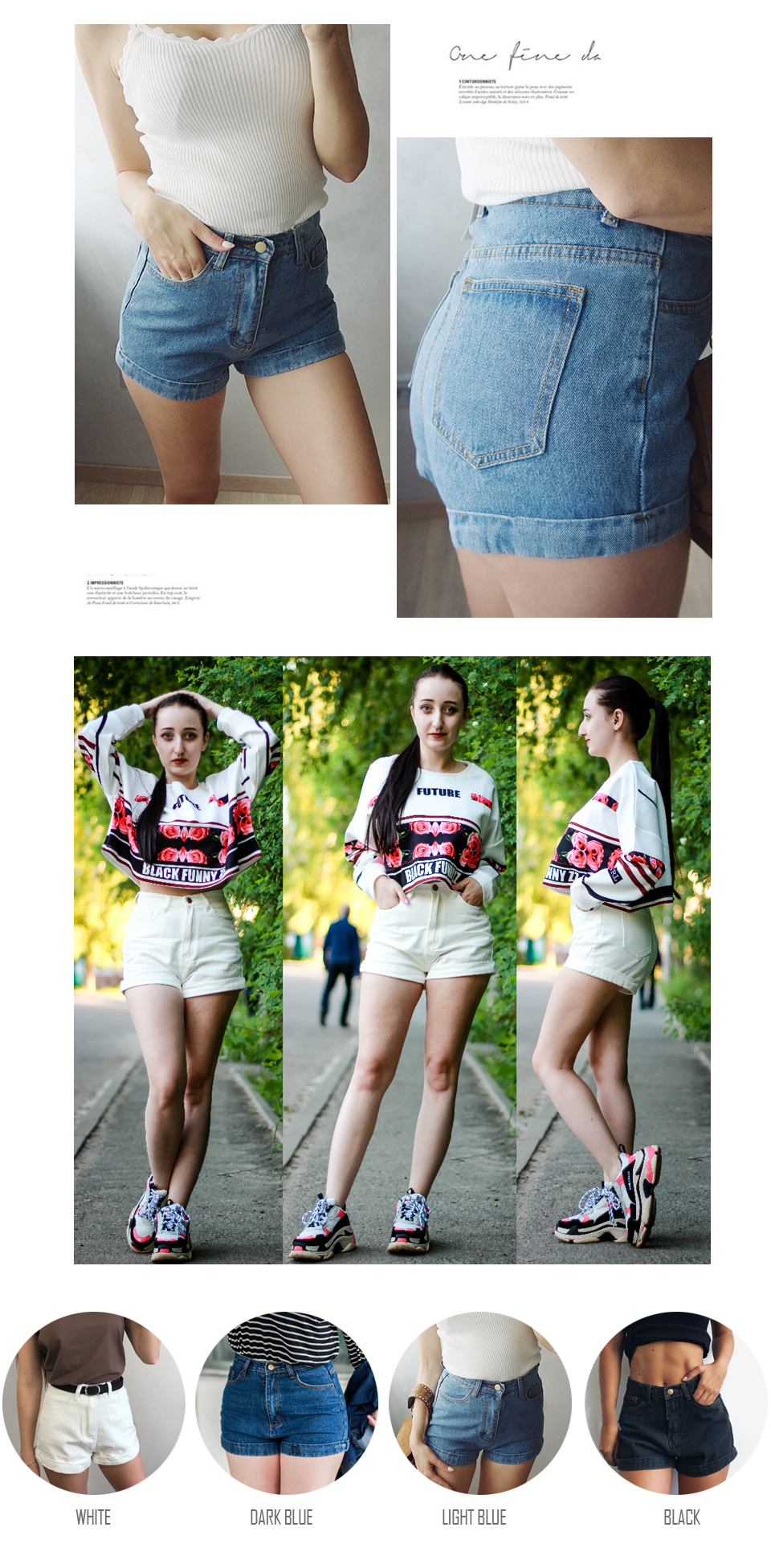 HTB1W0XQrfuSBuNkHFqDq6xfhVXac - GOPLUS High Waist Denim Shorts for Women Vintage Sexy Brand Shorts Jeans Women Denim Shorts Feminino Slim Hip Plus Size C3627