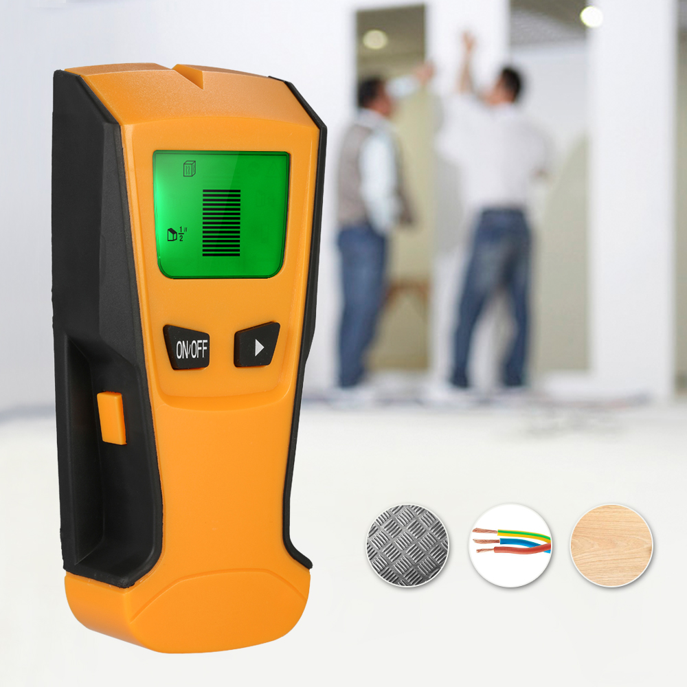 3 In1 Multi-functional Metal Detectors LCD Digital Wall Detector Metal Wood Studs Finder AC Cable Live Wire Scanner gigabyte brix gb bki3ha 7100