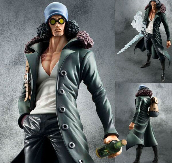 Anime One Piece P.O.P Kuzan PVC 23cm Action Figure Gift Collectible Model Toys все цены