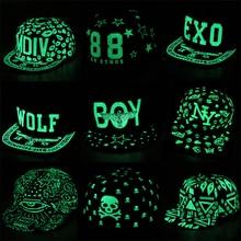 Adjustable Graffiti Baseball Cap Hip Hop Fluorescent Snapback Caps Men Casquette Women Boy Hat Girl Snap Back
