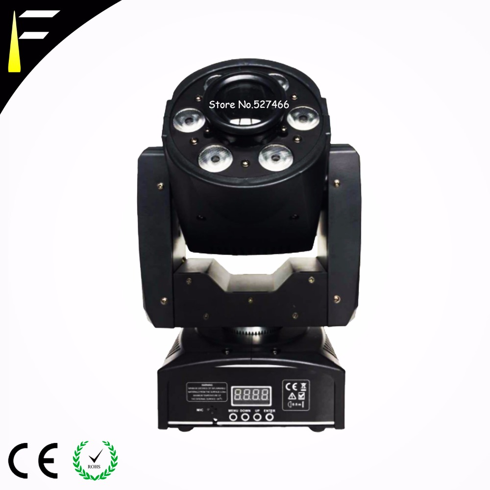 30w Pattern+6*8w Soft Light Washing Beam Moving Head Light RGBW Quad Color Little LED Moving Head Stage Light For Dj/Disco/Hipho tiptop tp l682 crazy beam 40 fusion led moving head beam light 40 watt quad rgbw with led ring dmx512 for stage light disco rgb