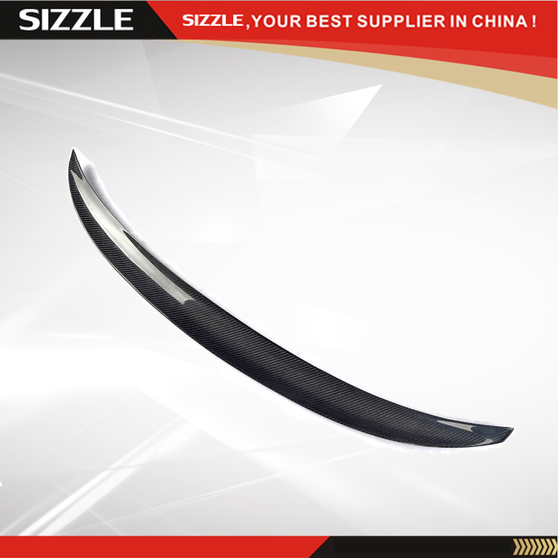 Performance Style Carbon Fiber Rear Trunk Spoiler For BMW 2 Series F22 F23 F87 M2 220i M235i 228i 218i 225d 2014 2015 2016 - UP abs rear trunk spoiler wing lip for bmw 2 series f22 228i m235i 220i 2014 2015 car styling