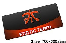 fnatic mouse pads 70x30cm pad to mouse notbook computer mousepad hot sales gaming mousepad gamer to keyboard laptop mouse mat