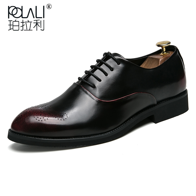 Shoes Snake Leather Men Oxford Shoes Lace Up Casual Business Men Pointed Shoes Brand Men Wedding Men Dress Boat Shoes To Enjoy High Reputation At Home And Abroad Men's Shoes