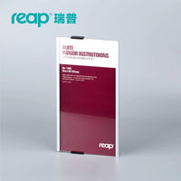 Reap 3205 Ruite 149 297mm Aluminium Office Badge Indoor Wall Mount Sticker Sign Holder Display INFO