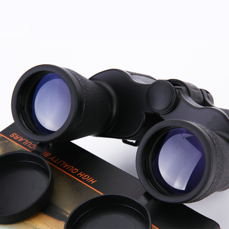 Portable Folding Day Night 20X50 Binoculars Telescope 15000 meter Zoom High Magnification Night Vision Binoculars for Outdoor fs 20x50 high quality hd wide angle central zoom portable binoculars telescope night vision telescopio binoculo freeshipping