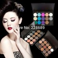 50pcs free shipping 3 Different New fashion 15 Earth Colors Matte Pigment Eyeshadow Palette Cosmetic Makeup Eye Shadow for women