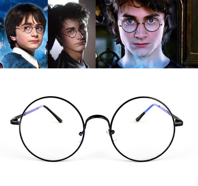 8e80eaf66b JackJad Fashion Harry Potter Round Metal Plain Glasses Eyewear Vintage  Classic Retro Myopia Optical Glasses Frame Oculos De Grau