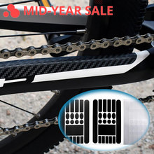 Bicycle Rack Stickers Paint Protection Film Protect Kit Bicycle Accessories Cycling Bike Stickers Decals Bike Frame Sticker(China)