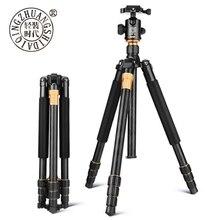 QZSD Q999 professionnel photographique Portable en alliage daluminium de magnésium trépied Kit monopode support Ballhead pour appareil photo reflex numérique