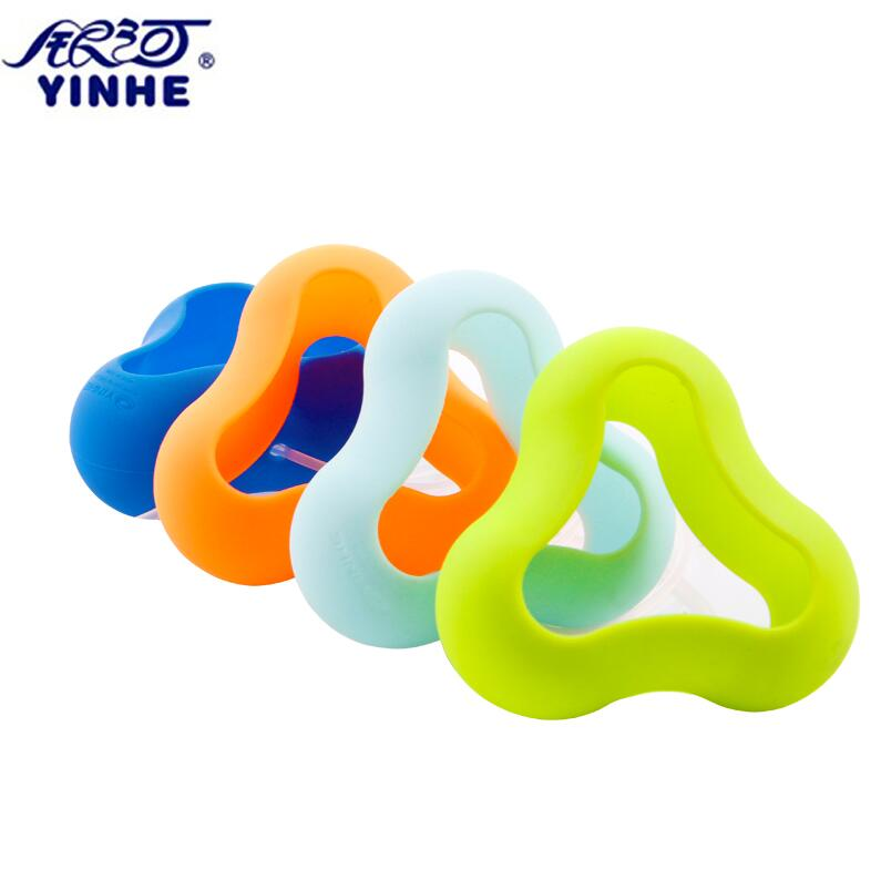 1x Original Yinhe expensive table tennis NO. 9997 colorful ball rubber case box holder three balls ease to carry light