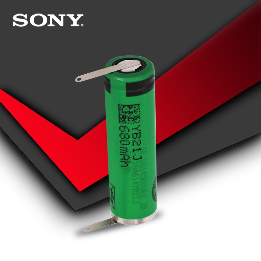 100% Original High Capacity AA 680mAh VR2 14500 Batteries Li-ion 3.7v Rechargeable Battery With Welding