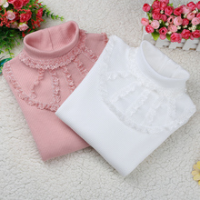 Girls Blouse 2020 Autumn Baby Girl Clothes Children Clothing Girls School Blouse Cotton Child Shirt Kids Clothes Blusas 2 14Y