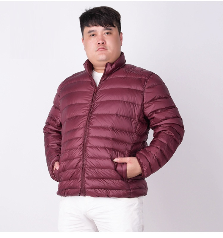 Image 3 - NewBang Brand Plus 7XL Ultra light Down Jacket Men Lightweight  Mens Down Coat Male Warm Portable Windbreaker Feather Parkaparka  downparka down menparka men