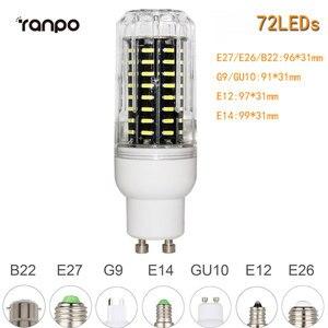Image 4 - E26 E27 E12 E14 G9 GU10 LED Corn Bulb 4014 SMD 10W 20W 25W 30W chiếu Sáng 36 Đèn LED 72 Đèn LED 96 Đèn LED 138 Đèn LED Ampoule Đèn Trợ Sáng