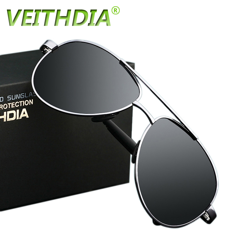 2017 VEITHDIA UV400 Pilot Yurt Sun Glasses Mens