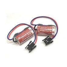 4pcs/lot New Original MAXELL ER17/33 3.6V 1600mAh PLC industrial control Lithium Battery Batteries with Black Plug (ER17/33) стоимость
