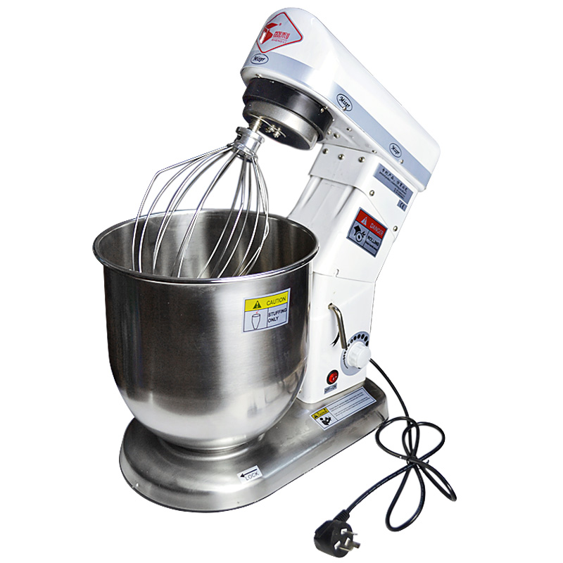 220V 10L Electric Stand Professional Dough Mixer Household Commercial Planetary Mixer Egg Beater Bread Mixer EU