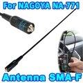 Новинка, Женская Двухдиапазонная стандартная гибкая антенна SMA, двухсторонняя радиосвязь VHF/UHF 144 МГц для BAOFENG NA-771 Kenwood