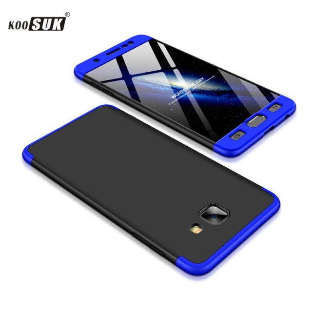 newest collection 04381 d2f1c US $4.99 |For Samsung Galaxy J7 MAX Case KOOSUK Fashion Business 360  Protection Back Cover For Samsung Galaxy J 7MAX Phone Shell-in Half-wrapped  Case ...